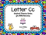 Letter C Phonics Center