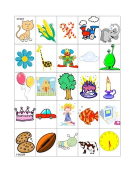Letter C Picture Mazes Freebie