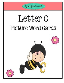 Letter C~ Picture Word Cards