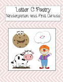 Letter C Poetry Kindergarten & First Grade