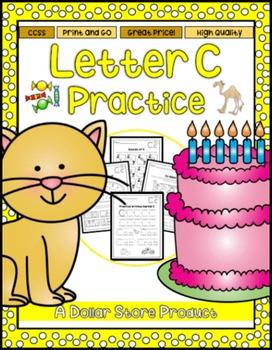 Letter C Practice Printables
