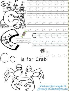 Letter C Printable