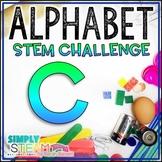 Letter C STEM Challenge | Letter C Activities
