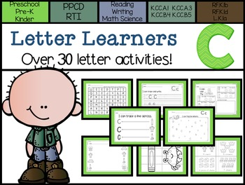 Letter Learners: Letter C