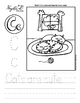 Letter C Trace and Write Worksheet Pack