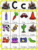 Letter C Vocabulary Cards
