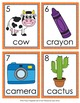 Letter C Words Write the Room Activity