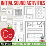 Letter C Worksheets, Letter C Activity, Hard C Words Lette