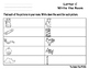Letter C Write the Room- Includes 3 levels of answer sheets