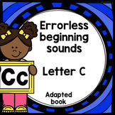 Letter C adapted book errorless learning