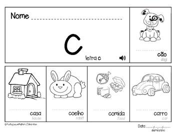 Letter C in Portuguese - Letra C