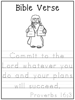 Letter C is for Commandments. Bible Letter of the Week.