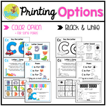 Letter of The Week activity pack