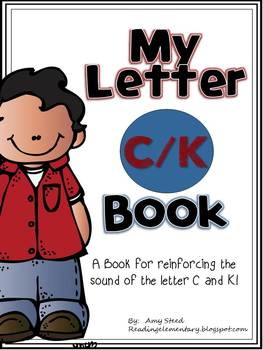 Letter C/K Book of Beginning Sound-Emergent Reader w/Running Record-CCSS Aligned