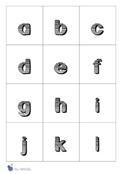 Letter Cards 2 - upper and lower case