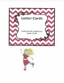 Lowercase & Uppercase Letter Flashcards