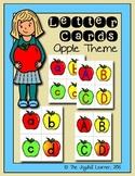 Letter Cards - Apple Theme (Freebie)