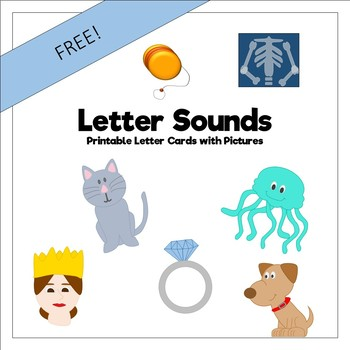 Letter Flash Cards (Freebie)