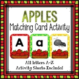 Letter Cards Matching-Apple Themed