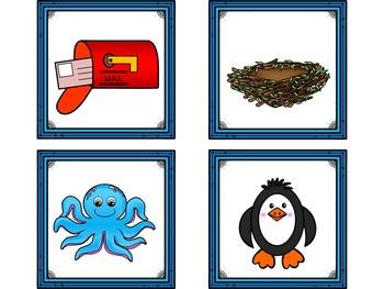 Dollar Deals! Letter Cards Matching-Safari Themed