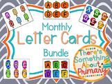 Monthly Letter Cards Bundle
