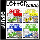 Letter Cards and Worksheets Bundle - Preschool, Pre-K, Kin