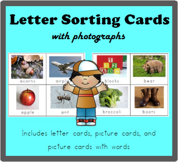 Letter Cards with Photographs