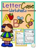 Letter Case Worksheets