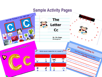 Letter Cc Activities for the Promethean Board