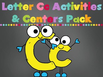 Letter Cc Activity Pack (CCSS) FREEBIE