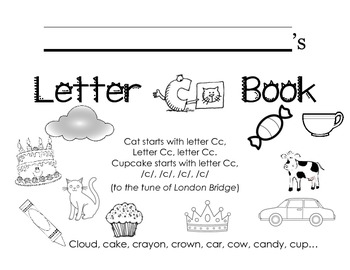 Letter Cc Activity Packet