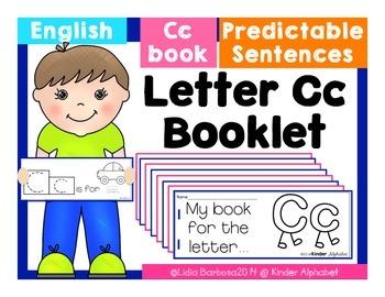 Letter Cc Booklet- Predictable Sentences