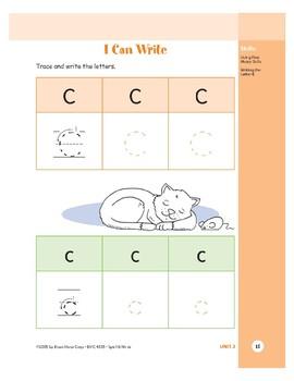 Letter Cc (Cat)