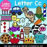 Letter Cc Digital Clipart