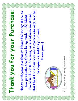 Letter Cc File Folder Game