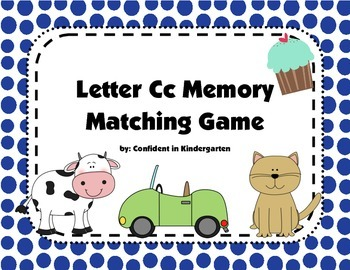 Letter Cc Memory Game