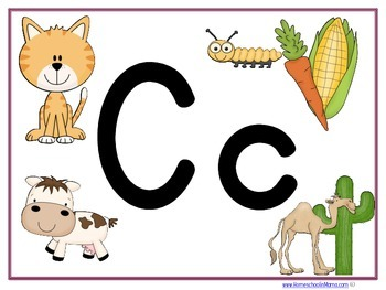 Letter Cc Learning Pack
