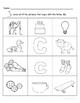 Letter Cc Words Coloring Worksheet