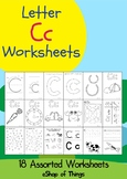 Letter Cc Worksheets Coloring Tracing Phonics Alphabet Dab letter Find letter