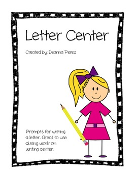 Letter Center Prompts