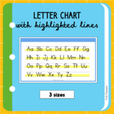 Letter Charts Variety Pack