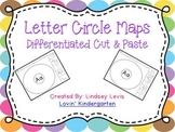Letter Circle Maps {Differentiated Cut and Paste}