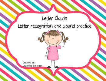 Letter Clouds - Letter Practice for Literacy Centers - Com