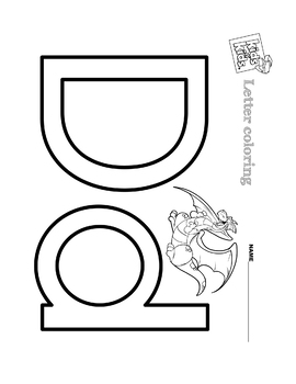 Letter Coloring 2
