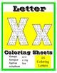Letter Coloring Sheets for Preschool & Kindergarten ~ Writing & Art Center Fun