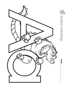 Letter Coloring1
