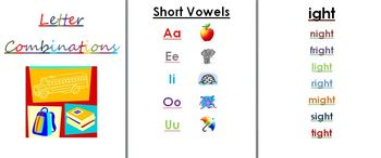 Letter Combinations Booklet