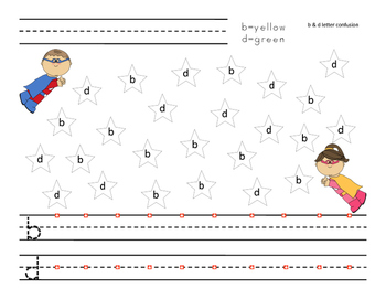 Letter Confusion Activities
