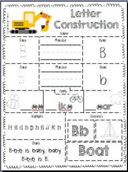 Letter Construction