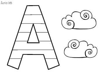 Letter Craft from A to Z - Spanish